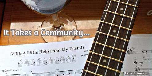 It takes a community, www.lisanalbone.com