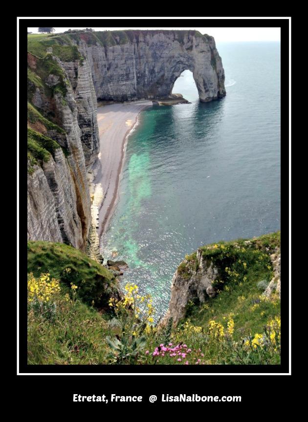 Etretat, France LisaNalbone.com