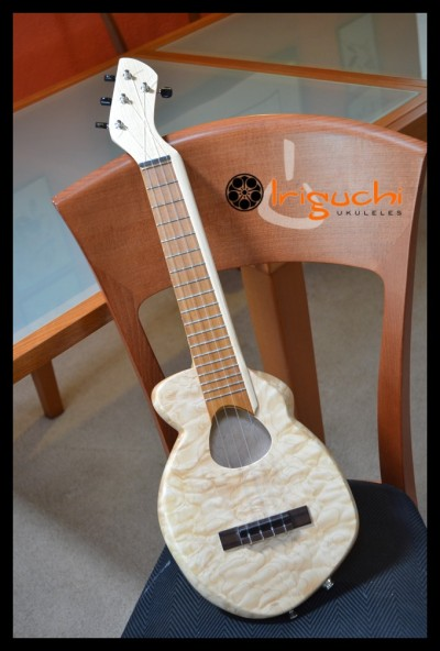The Mutant Ukulele by Dave Iriguchi post at LisaNalbone.com