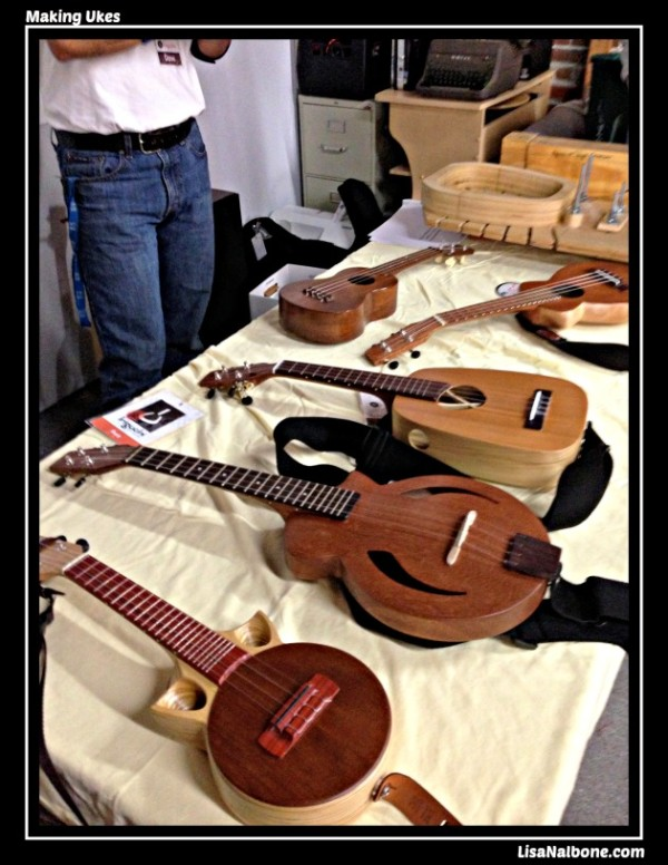 Uke line up. David Iriguchi talk. post LisaNalbone.com