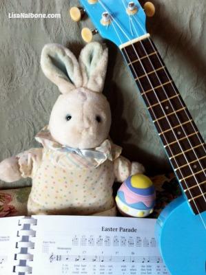 Dr. Uke says Happy Easter at LIsaNalbone.com