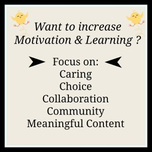 Increase Learning and Motivation book review of Punished by rewards at LisaNalbone.com
