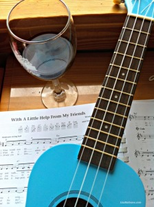 Dr Uke and wine, with a little help from your friends. It takes a community LisaNalbone.com