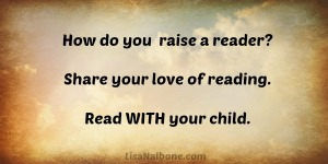 How to raise a Reader? lisaNalbone.com