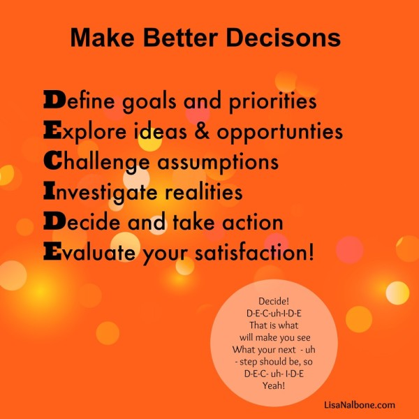 how to make better decisions Chip and dan heath the bestselling authors of switch and made to stick tackle one of the most critical topics in our work and personal lives how to make better decisions research in psychology has revealed that our decisions are disrupted by an array of biases and irrationalities were overconfident we seek out.