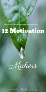 12 Motivation Makers pinterest pin