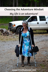 Choosing the Adventure Mndset: My life is my adventure and Dr. Uke and Laughter are my sidekicks. Photo credit J.Pierre Stephens