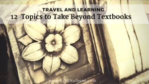 Travel and Learning:12 Topics to Take Beyond Textbooks, photo of marble section from the Roamn Forum, www.lisanalbone.com