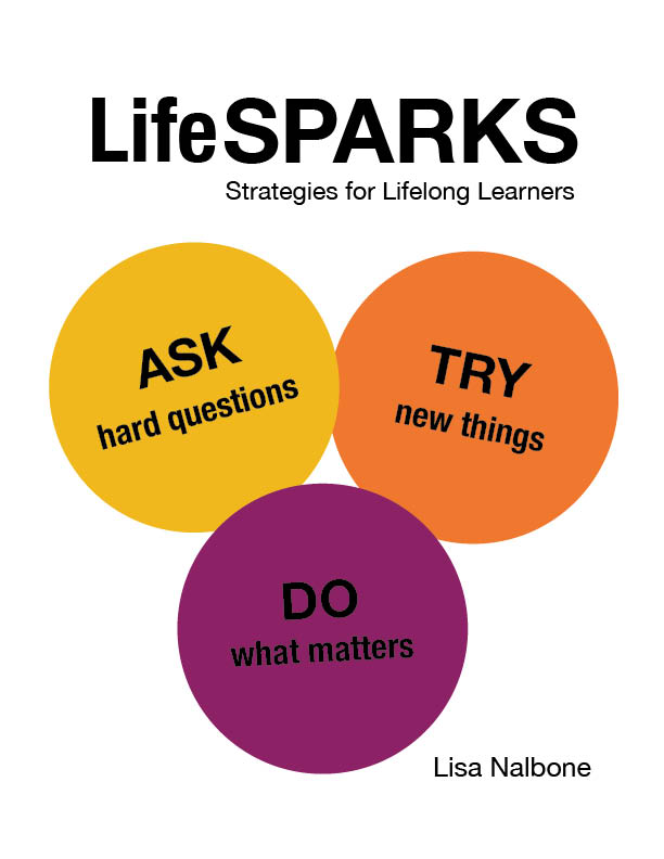 LifeSPARKS Strategies for Lifelong Learners front cover design