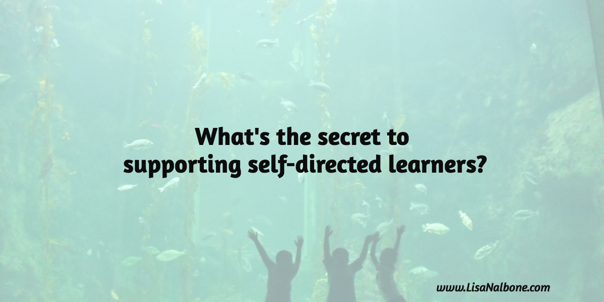 What's the Secret to Supporting Self-directed Learners?